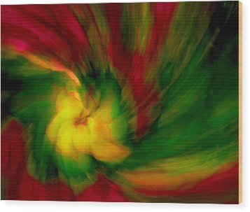 Whirlwind Passion Wood Print