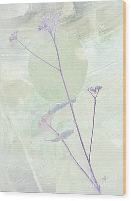 Whisper In The Wiind Wood Print by Ann Powell