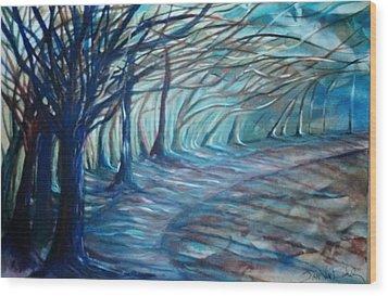 Whisper Wood Print