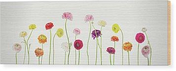 Whispering Spring Wood Print by AugenWerk Susann Serfezi