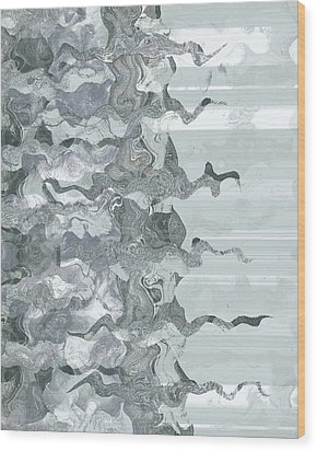Wood Print featuring the digital art Whispers In The Fog by Wendy J St Christopher