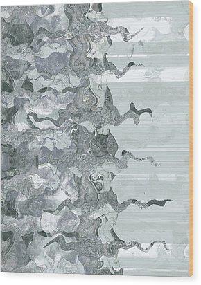 Whispers In Fog Wood Print