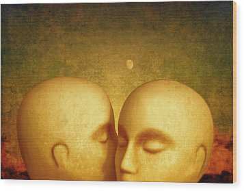 Wood Print featuring the photograph Whispers by Jeff  Gettis