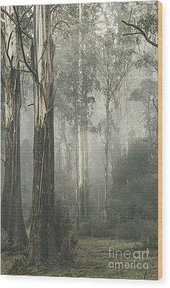 Whist Wood Print by Andrew Paranavitana