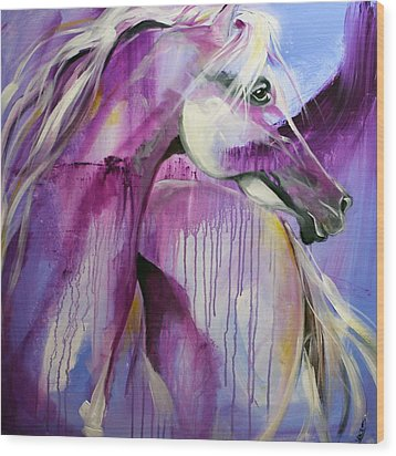 White Arabian Nights Wood Print