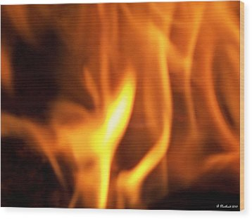 Wood Print featuring the photograph White Hot by Betty Northcutt