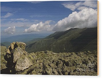 White Mountain National Forest - New Hampshire Usa Wood Print