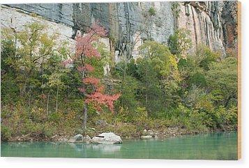 White River Arkansas Wood Print