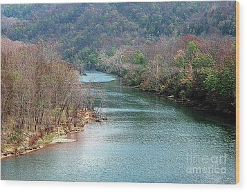 White River Wood Print by Kathleen Struckle