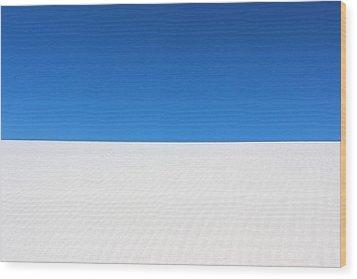 White Sands #8 Wood Print by Kume Bryant