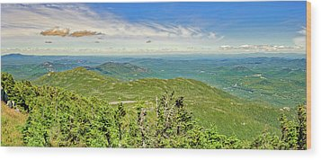 Wood Print featuring the photograph Whiteface Mountain Lake Placid Adirondacks   -  Whitefacemountain172598 by Frank J Benz