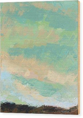 Wholeness Wood Print by Nathan Rhoads