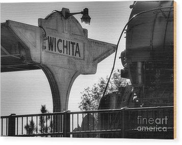 Wichita Approach Wood Print