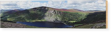 Wicklow Mountains In Ireland Wood Print by Michelle Joseph-Long