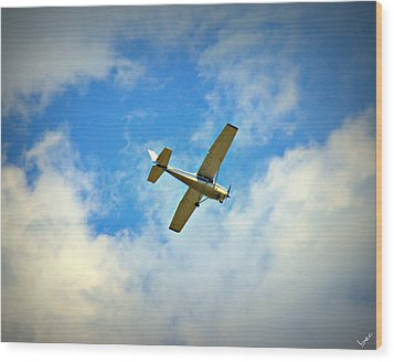 Wild Blue Yonder Wood Print by Bruce Carpenter