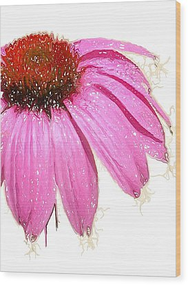 Wood Print featuring the photograph Wild Flower One  by Heidi Smith