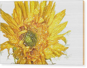 Wood Print featuring the photograph  Wild Flower Two  by Heidi Smith