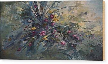 'wild Flowers' Wood Print by Michael Lang