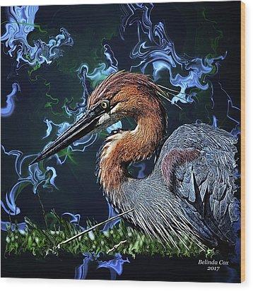Wild Goliath Herona Wood Print