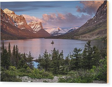Wild Goose Island Morning 1 Wood Print