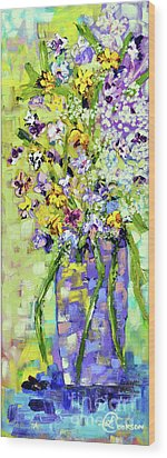 Wild Profusion Wood Print