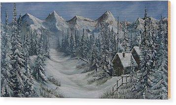 Wilderness Wood Print