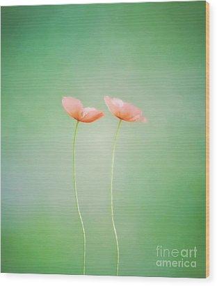 Wildflower Duet Wood Print