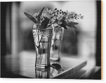 Wood Print featuring the photograph Wildflowers Still Life by Laura Fasulo