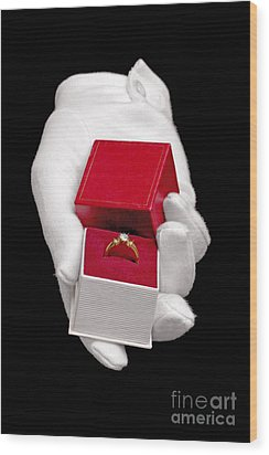Will You Marry Me Wood Print by Richard Thomas