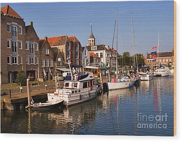 Willemstad Wood Print by Louise Heusinkveld
