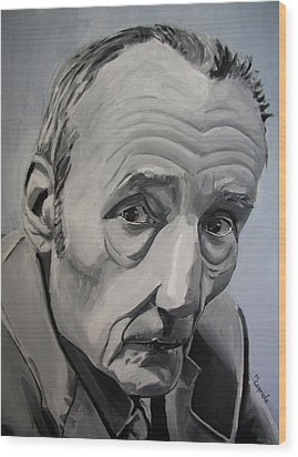 William Burroughs Wood Print