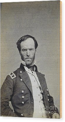 William Tecumseh Sherman Wood Print by Granger