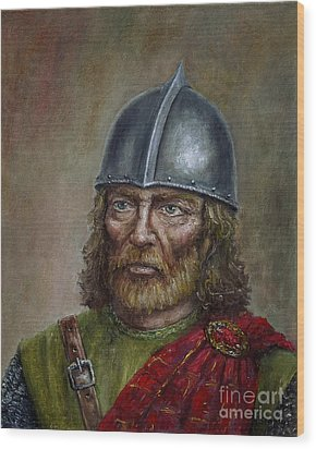 William Wallace Wood Print by Arturas Slapsys