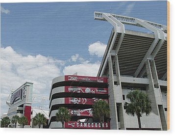 Williams Brice Stadium  II Wood Print
