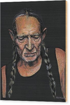 Willie Wood Print by Someone Jenkins