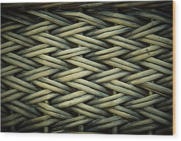 Wood Print featuring the photograph Willow Weave by Les Cunliffe