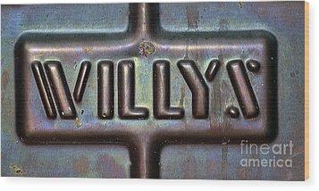 Willys Wood Print