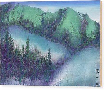 Wilmore Wilderness Area Wood Print by Shirley Heyn
