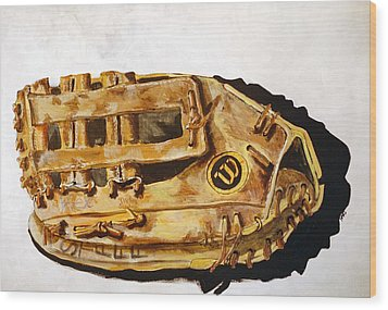 Wilson Staff Pro Wood Print by Jame Hayes