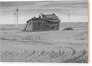 Wood Print featuring the photograph Wind On The Plains by Fran Riley