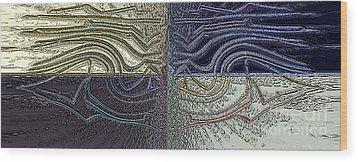 Wind Wood Print by Patrick Guidato