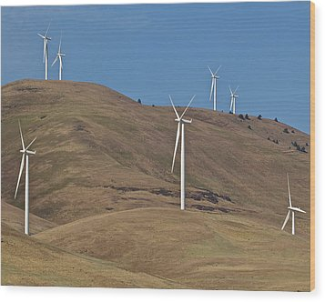 Wind Power 6 Wood Print