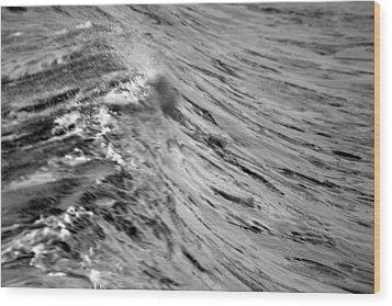Wind Swept Wood Print by Brad Scott