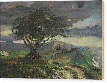 Wind Wood Print by Tigran Ghulyan
