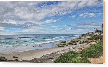 Wood Print featuring the photograph Windansea Wonderful by Peter Tellone