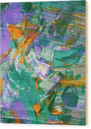 Windblown Wood Print