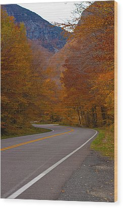 Winding Road Wood Print by Robert  Torkomian