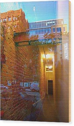 Window Art Lll Wood Print by Mark Lemon