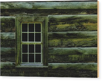 Window In Time Wood Print