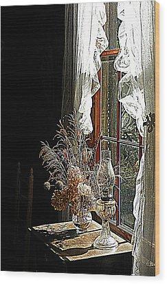 Window Sunshine 2 Wood Print
